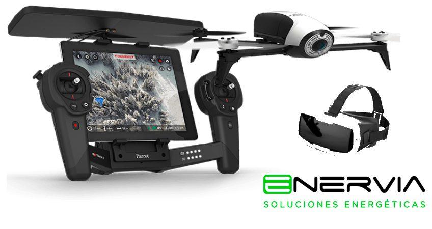 uso drone empresa solar